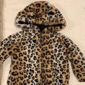 Gap Cheetah coat